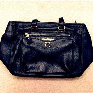 Salvatore Ferragamo medium size black bag